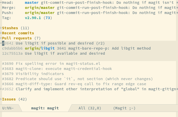 Emacsair! Work with Git Forges inside Emacs