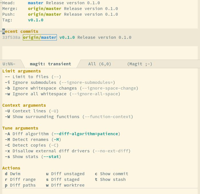 Emacsair! Introducing Transient Commands